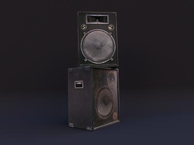 Bass modeling render daily design 3d art cyclesrender blender3d 3d uv blender techno music