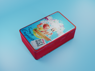 Biscuit Box illustration modeling render daily blender design 3d art cyclesrender blender3d 3d