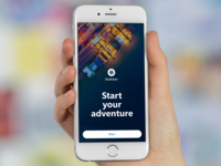 Recruitment App Start Screen