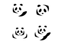 panda logo - daily logo challenge
