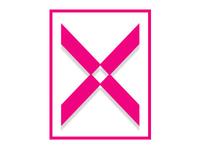 single letter logo - X