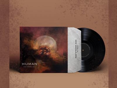 album cover design inspiration adobe photoshop design digital art galaxy human album cover music art