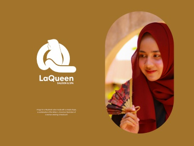 LaQueen branding graphic design logo