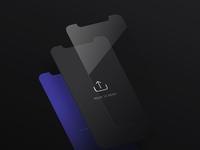 Free Isometric Iphone X Screen Mockup