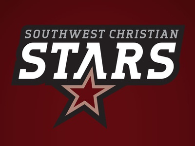 Southwest Christian Stars athletics logo high school