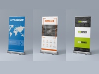 Roll-Up banners business exhibition