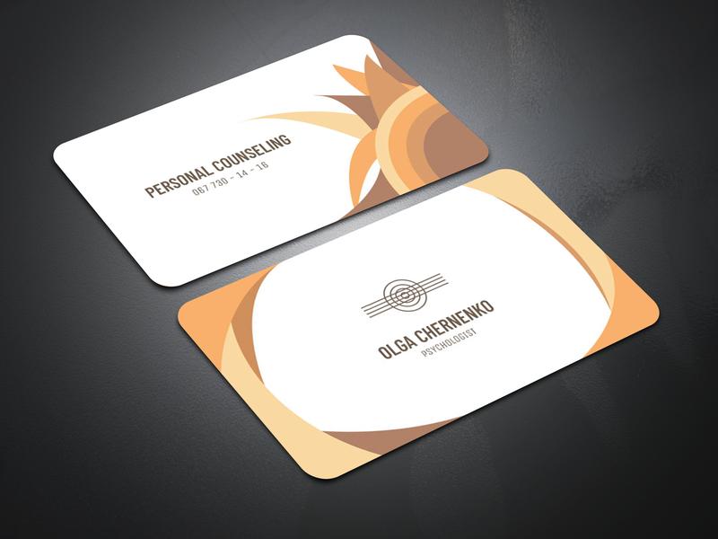 Визитная карточка визитная карточ визитка визуализация брендинг логотип дизайн иллюстрация вектор