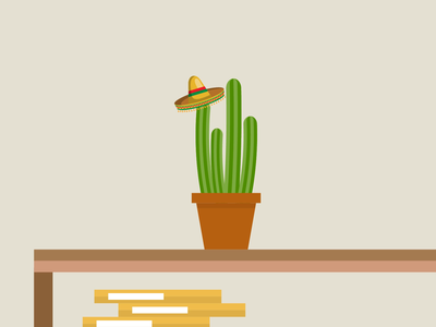 A jumping cactus (character animation for Safe Space health) after effects animation ux illustration vector design javascript json svg lottie animations website animation health website animation design animation 2d bodymovin after effects animation cactus