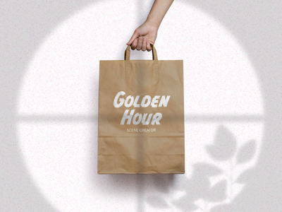 Paper bag mock up using Golden Hour Scene Creator paper bag mock up mock up builder mock up builder scene creator scene builder photoshop template after effect window scene ficus ficus plant houseplants after effects motion graphics organic shadow shadow animation after effects animation after effects animation