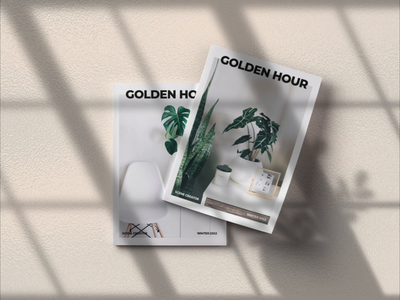 Magazine mock up using Golden Hour after effects motion graphics magazine mock up mock up mock up builder scene mockup photoshop template blowing in the wind foliage floral shadow animation organic shadow scene creator scene builder plant animation houseplants after effects animation aftereffects animation