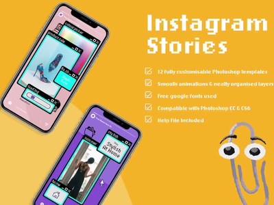 90s web animated instagram story illustrative video 1 small photoshop template story templates ms solitaire ms paint microsoft retro instagram socialmedia instagram story instagram story template photoshop animation photoshop microsoft 95 creative market 90s web retro illustration illustration after effects animation animation after effects