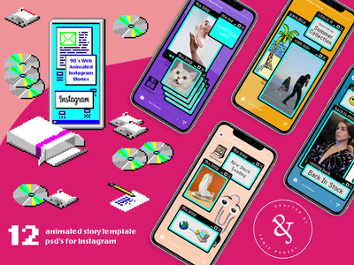 90s Web Animated Instagram Story retro web ms solitaire ms paint animated instagram posts animated instagram stories animated story animated instagram animated instagram template instagram story instagram template photoshop templates creative market photoshop animation photoshop instagram template photoshop template photoshop after effects after effects animation animation