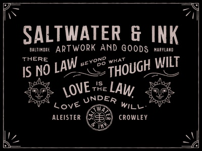 Saltwater & Ink