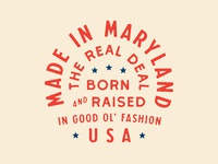 Maryland, U.S. of A.