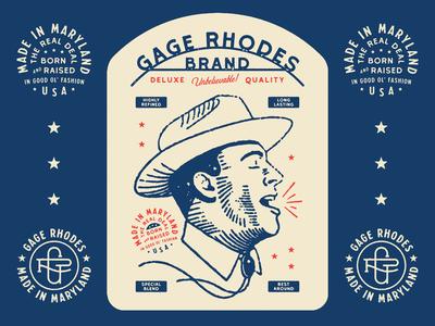 Gage Rhodes Shirt Design