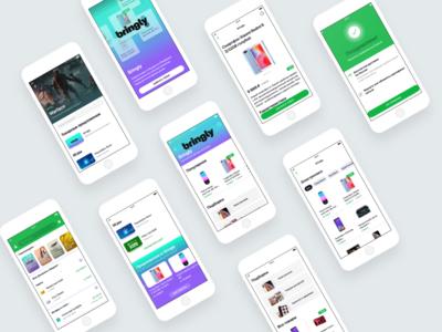 E-com for the banking app