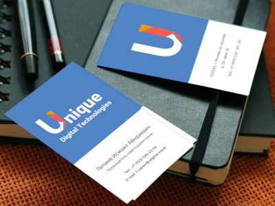 Business card travel company
