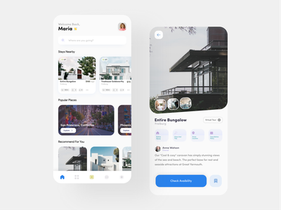Home Rent App Design apartment design apartment virtual tour place house real estate rent home rent home blue ios application ui design app android ux ui design