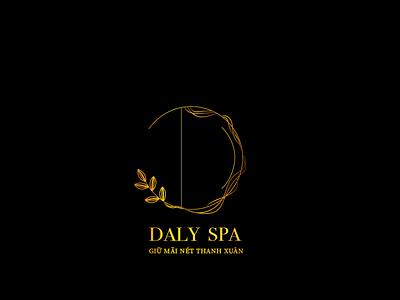 spa logo beauty logo letter black gold branding logo spa beauty