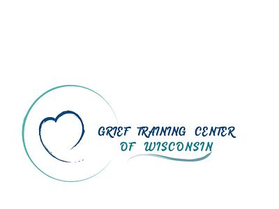 grief training center branding illustration logo design