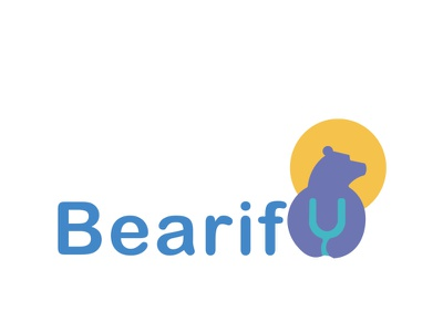 Bearify bear design illustration logo