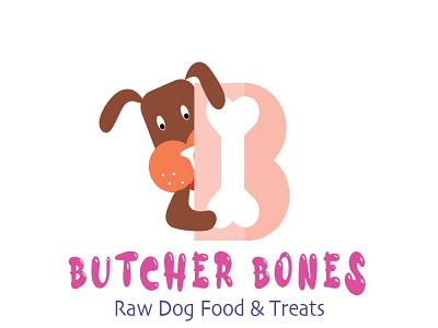 Dog Food logo dog bones logo dogfood branding logo design