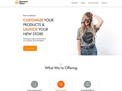 ecommerce site header design hero header fashion cloth ecommerce