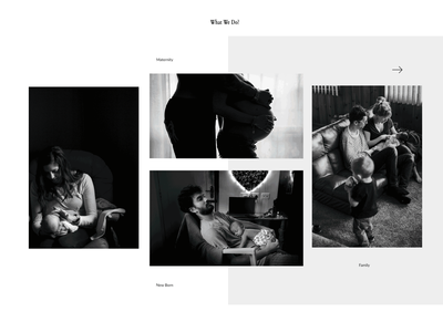 photography wall black  white photography webdesign uiux ui ux design branding