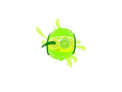 lime logo lime greenlogo food app branding ui uiux logo illustration design illustrator