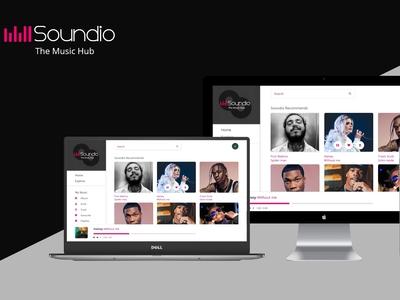 Soundio music website