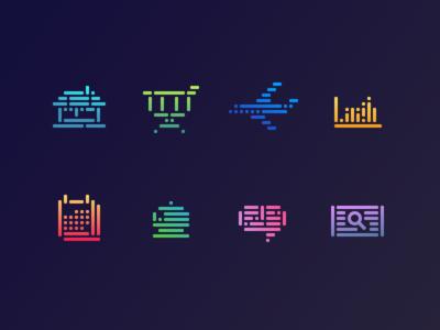 Neon Icons
