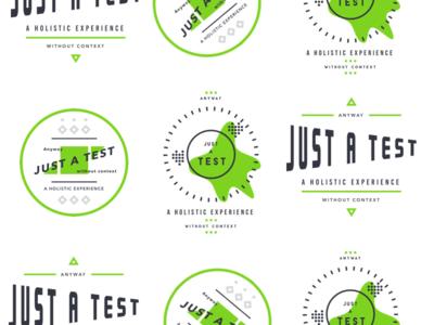 Typographic icon practice
