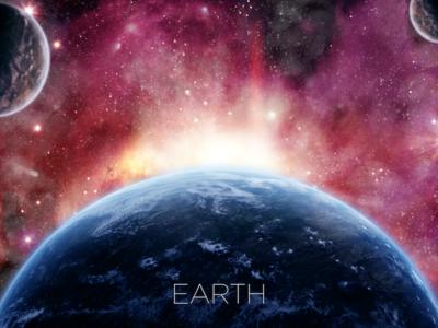 Space Scene: Earth