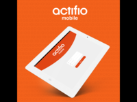 Actifio Mobile iPad Design #1