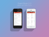 Event Book - Day + Week Book