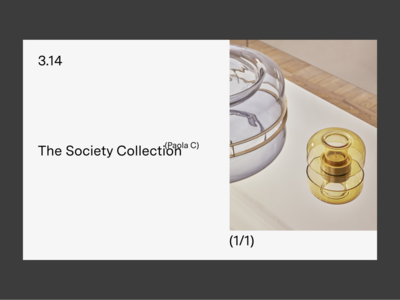 3.14 — Detail slider minimal interface website web ui typography design