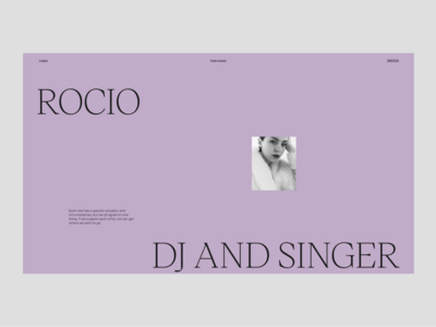 Women – Interview *Rocío