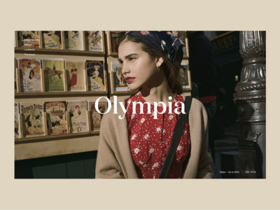 Homepage Olympia