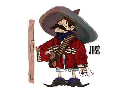 José - Porta Potty Character #1
