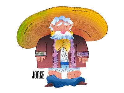 Jorge - Porta Potty Character #1
