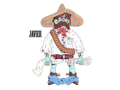 Javier - Porta Potty Character #1