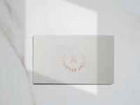 The Digital Accent Studio Business Card design