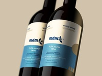 Mam Honey Wine Labels