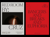 Red Room Branding Posters