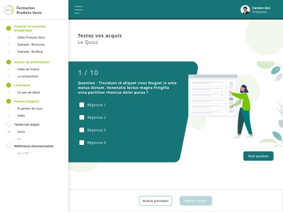 Green MOOC - Test uxui design web banking