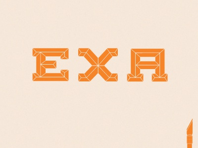 Exa serif slab type