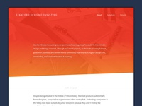 Stanford Design Consulting Website