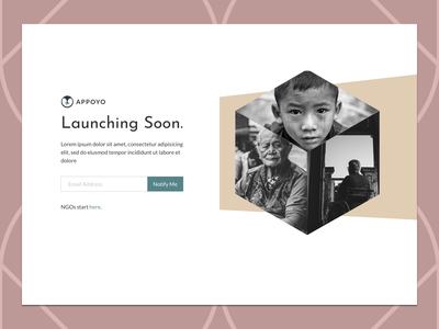 Launching Soon page email coming soon page coming soon launching soon typography ui landing logo webdesign
