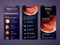 Apo11o - Space Discovery UI