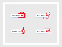 Save A Life Icons